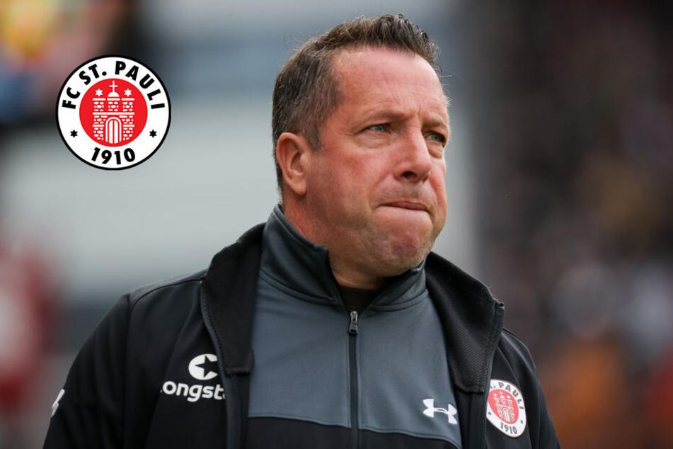 St. Pauli-Trainer Kauczinski muss seine Elf gegen Aue umkrempeln