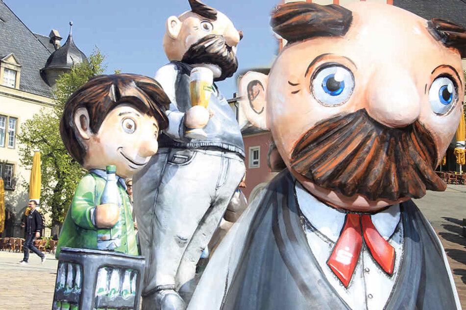Kultfiguren präsentiert: Vater und Sohn sollen Innenstadt beleben