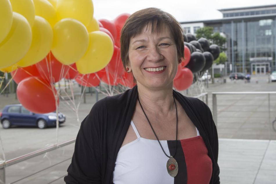 """Die gebürtige Polin Patrycja Puchalska-Zöffel (52) bezeichnet sich selbst als """"Liebesflüchtling""""."""