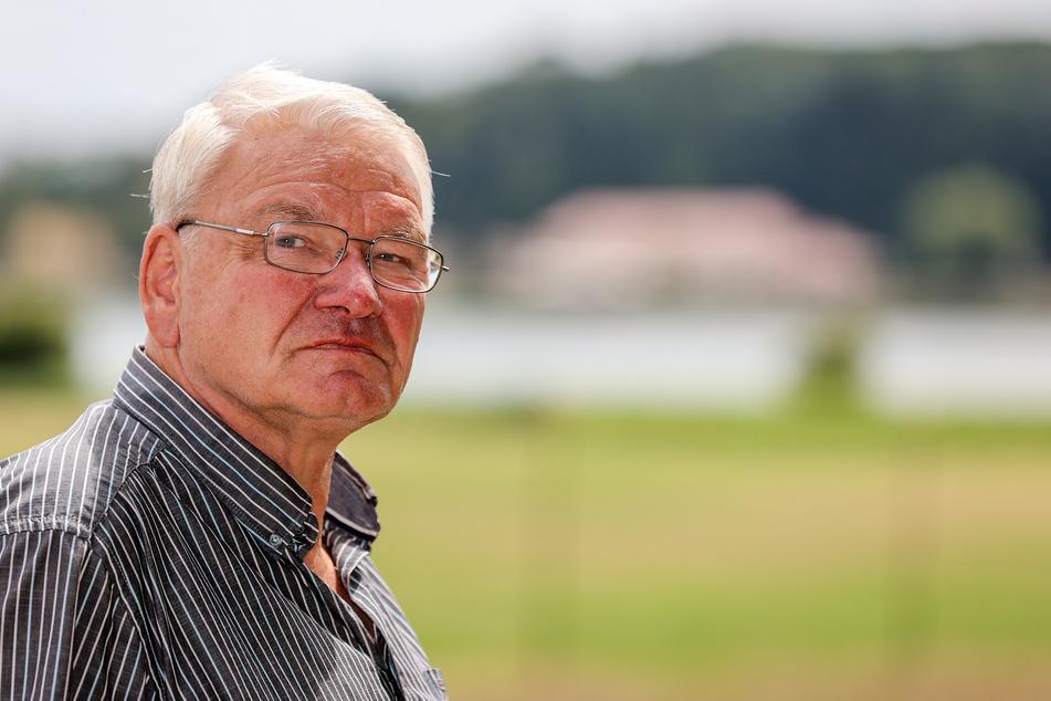 """Georg Stähler, Geschäftsführer der Teichwirtschaft Wermsdorf GmbH, hat das """"Horstseefischen"""" schweren Herzens absagen müssen."""
