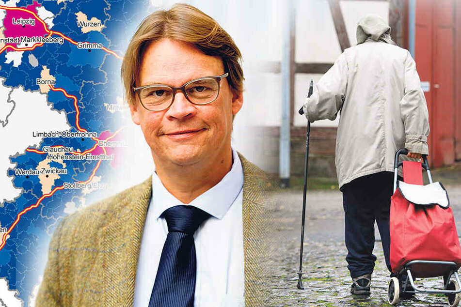 Professor fordert Sterbehilfe für Sachsens Dörfer