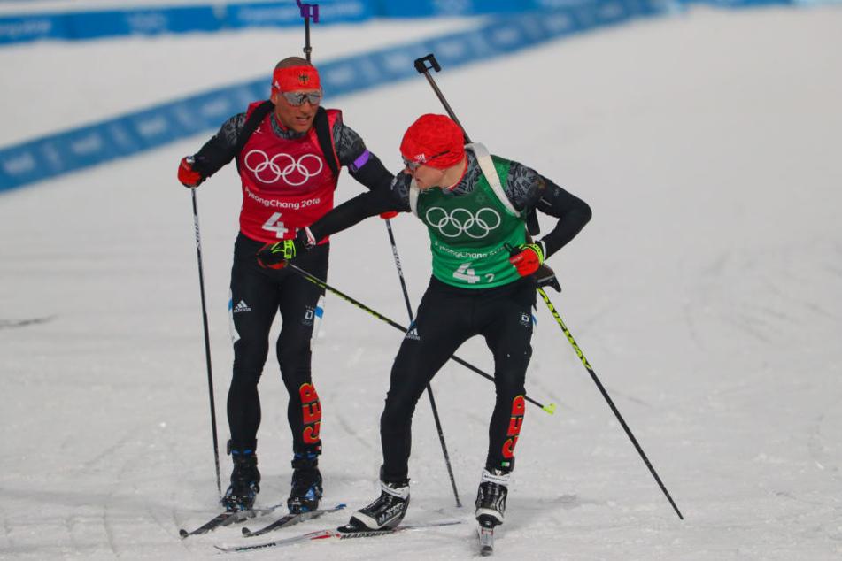 Gold verpasst! Bronze für unsere Biathlon-Herren