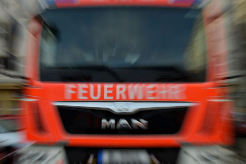 Die Feuerwehr bekämpfte von außen und innen das Feuer (Symbolfoto).