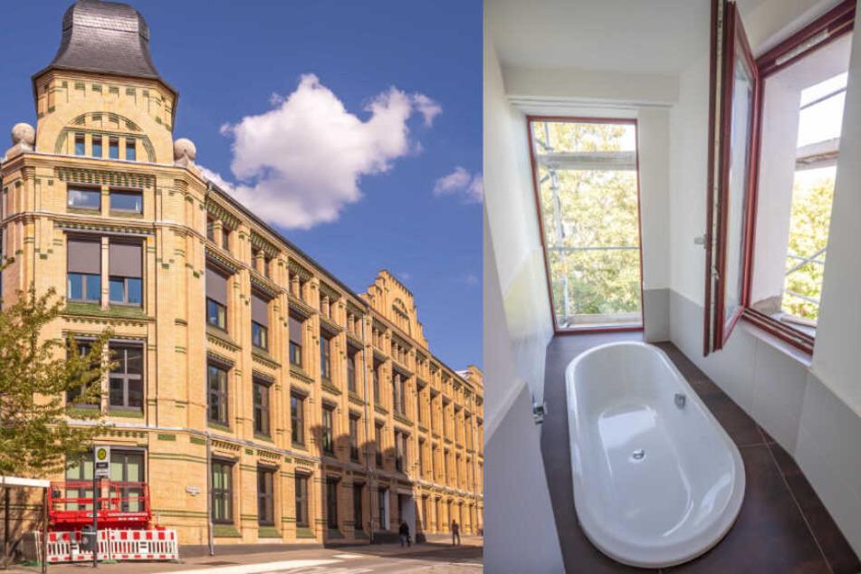 Chemnitz: Luxuswohnungen entstehen: Sonnenberg verwandelt sich zum Edel-Viertel
