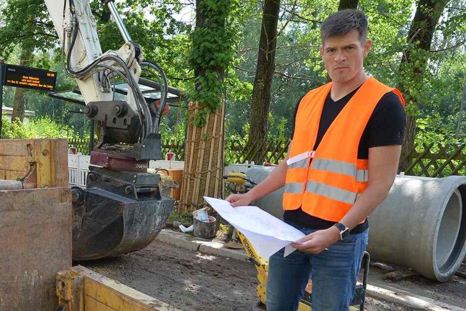 Chemnitzer Baustellen kennen keine Ferien
