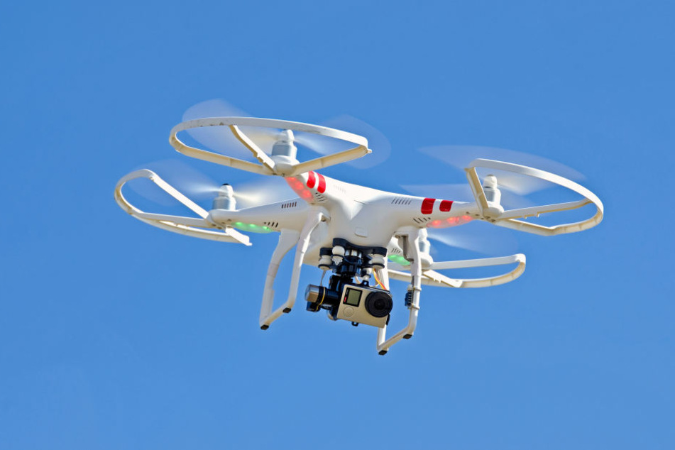 Ein Unbekannter hat mit seiner Drohne einen nackten Mann gefilmt. (Symbolbild)