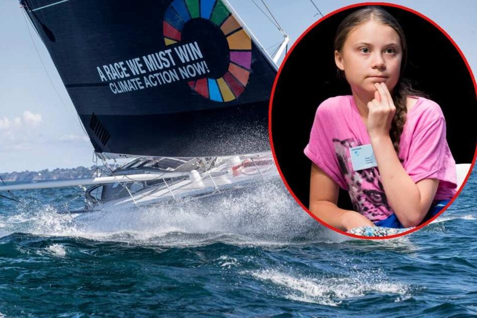 Ohne Klo und Bett: Greta Thunberg wagt krassen Segeltörn über den Atlantik