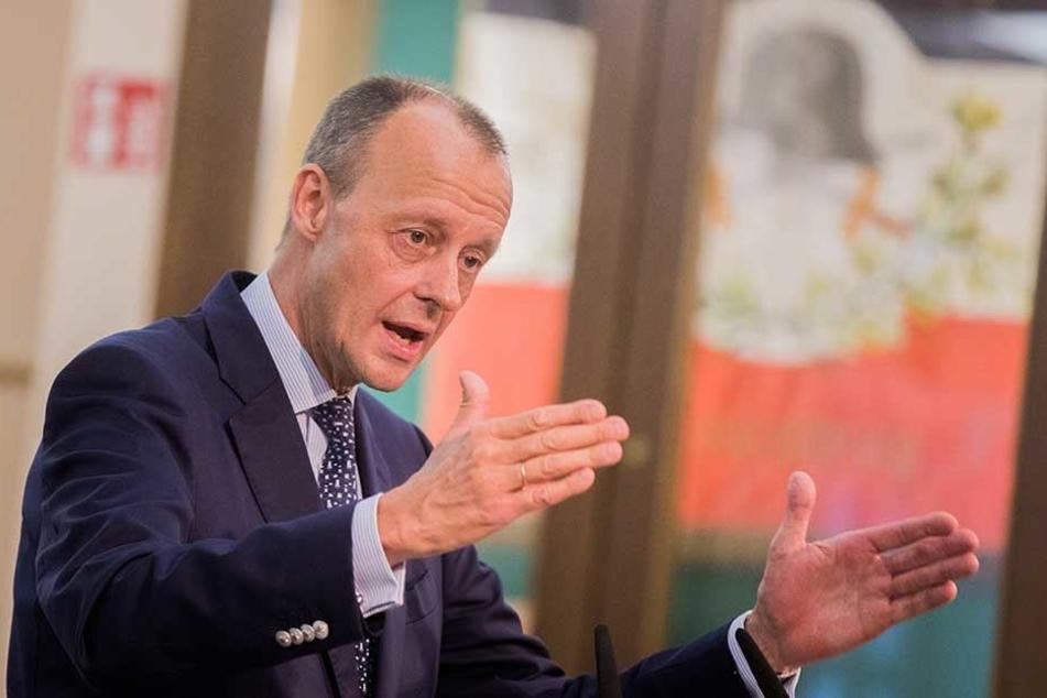 Will CDU-Vorsitzender werden: Friedrich Merz.