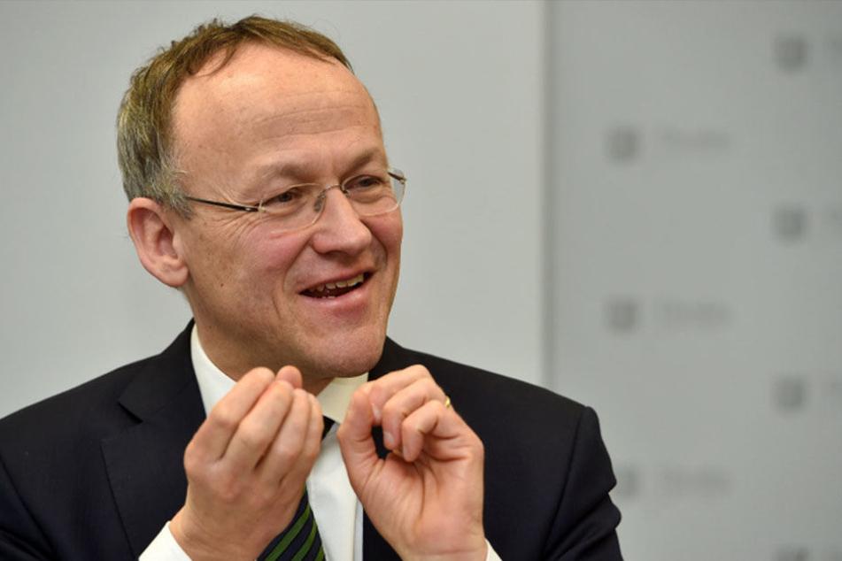 Finanzbürgermeister Peter Lames (53, SPD) verwaltet sprudelnde Einnahmen.