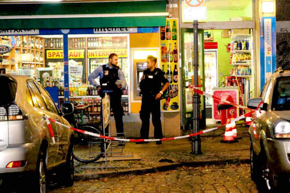 Am Freitagnachmittag gab es eine Schießerei in diesem Späti in Berlin-Neukölln.