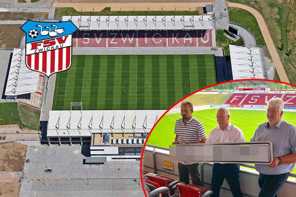 Neuer Name! So heißt jetzt das Stadion vom FSV Zwickau