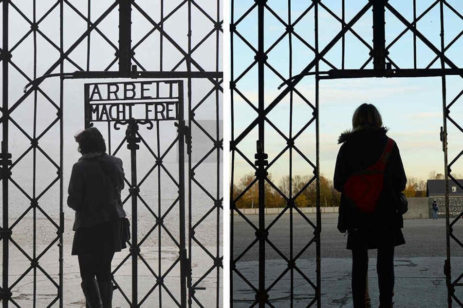 Das gestohlene Eingangstor ist zurück in der KZ-Gedenkstätte Dachau.
