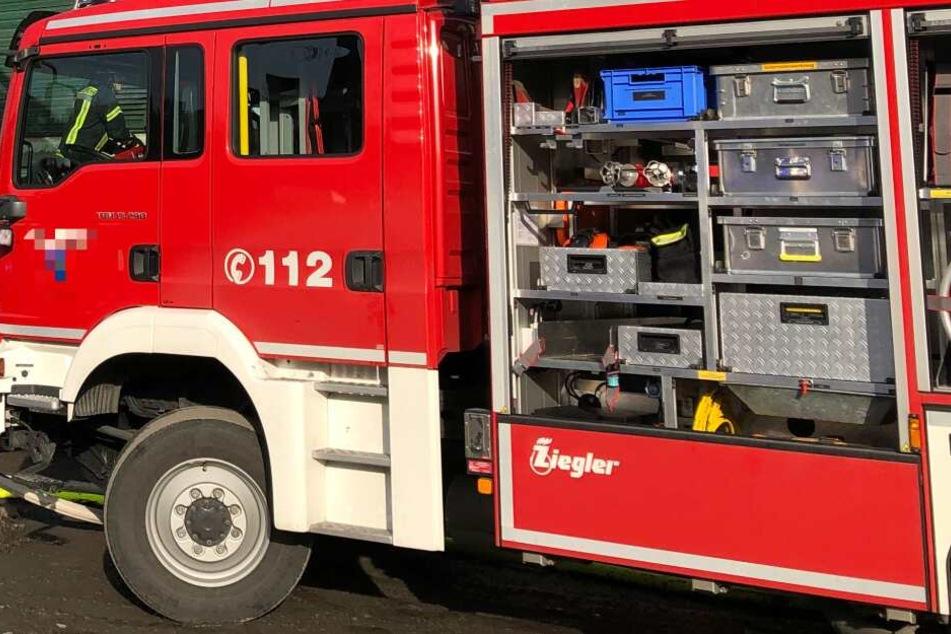 Die Feuerwehrleute waren ursprünglich wegen eines Feuers gerufen worden. (Symbolbild)