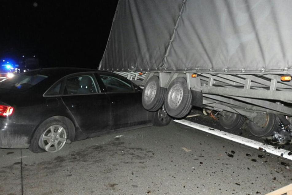 Vollsperrung! Schwerer Unfall auf der A14