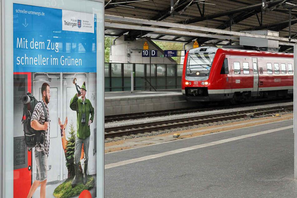 Der gesamte Bahnfahrplan in Thüringen richtet sich ab Dezember nach der ICE-Neubaustrecke.