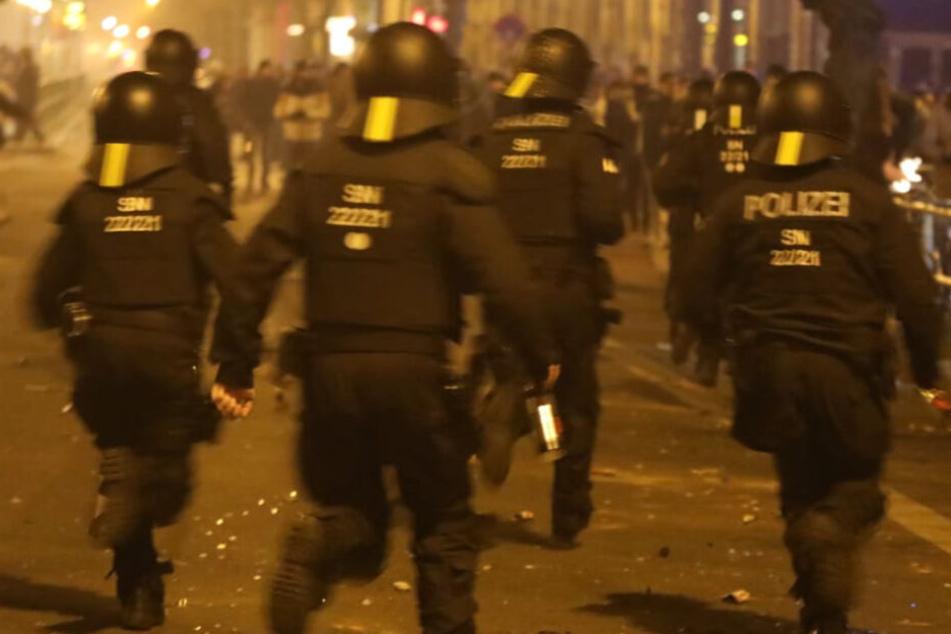 Silvester-Krawalle in Connewitz: Erster Verdächtiger aus U-Haft entlassen