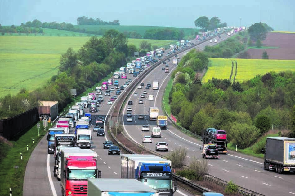 Baustellen auf der A4 werden zur täglichen Unfall-Falle