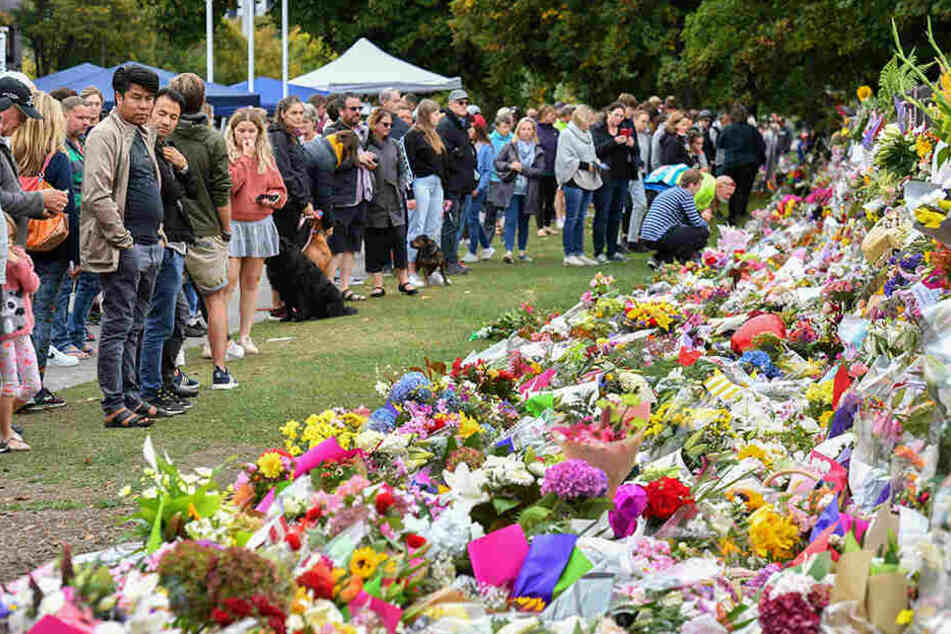 Ein Land in Trauer: In Neuseeland ist das Entsetzen über den Anschlag von Christchurch immer noch groß.