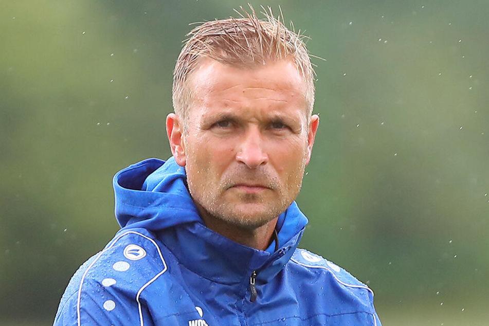 Trainer David Bergner hat nach dem Ausfall von Ioannis Karsanidis ein echtes Problem.