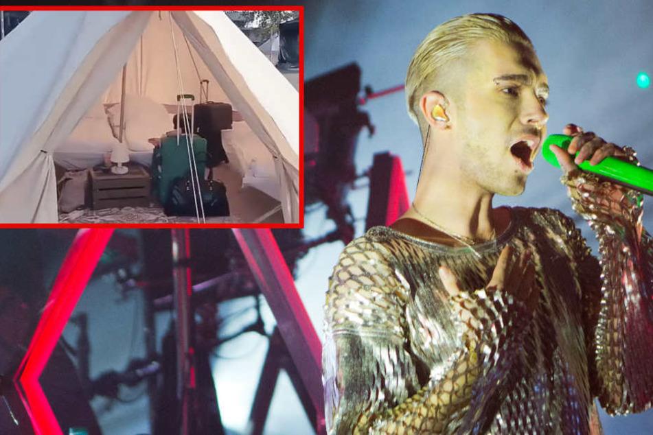 Teuer-Camp von Tokio Hotel: Drei Nächte in diesem Tipi kosten stolze 1000 Euro