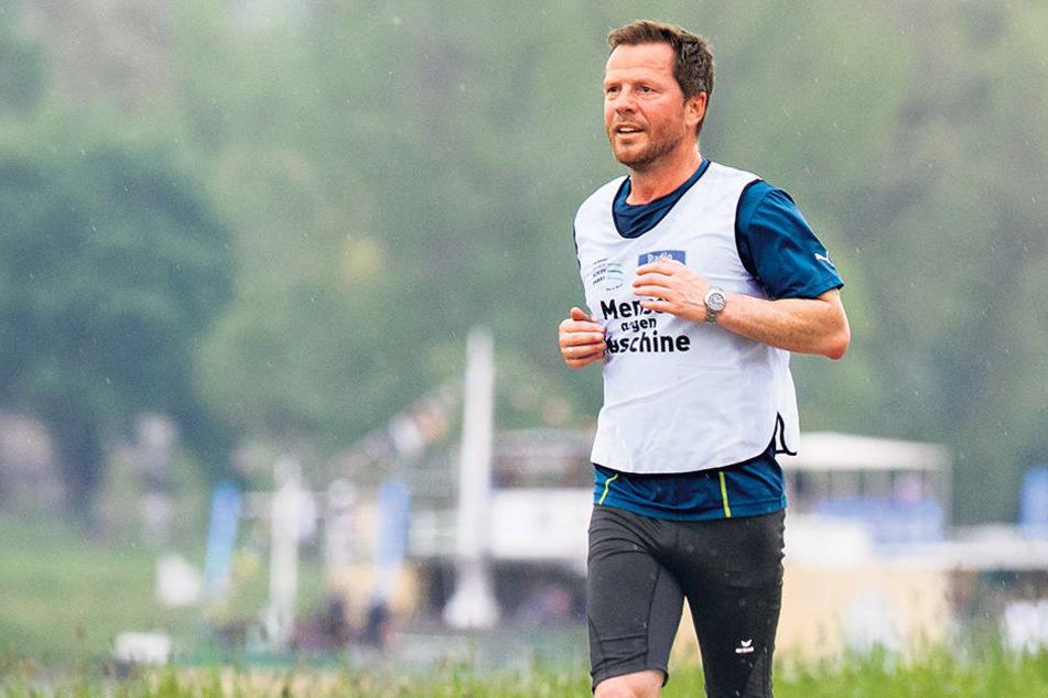 Seit vielen Jahren ist André Hardt ambitionierter Marathonläufer.