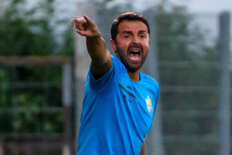 Sreto Ristic coachte den CFC in Unterhaching.