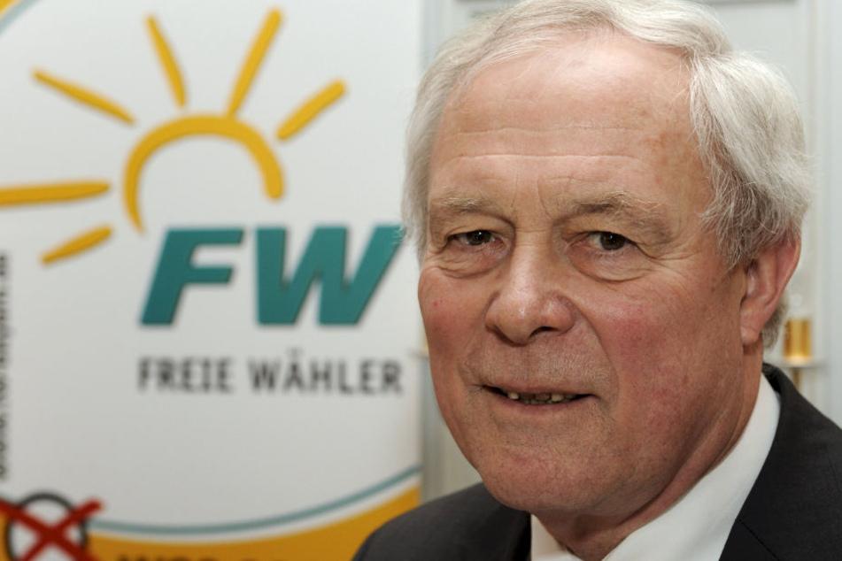 Armin Grein war 28 Jahre lang Landesvorsitzender der Freien Wähler. (Archivbild)