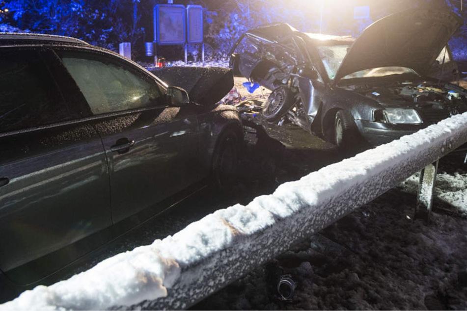 Der Unfall ereignete sich gegen 22 Uhr auf der Friedberger Straße in Bad Homburg.