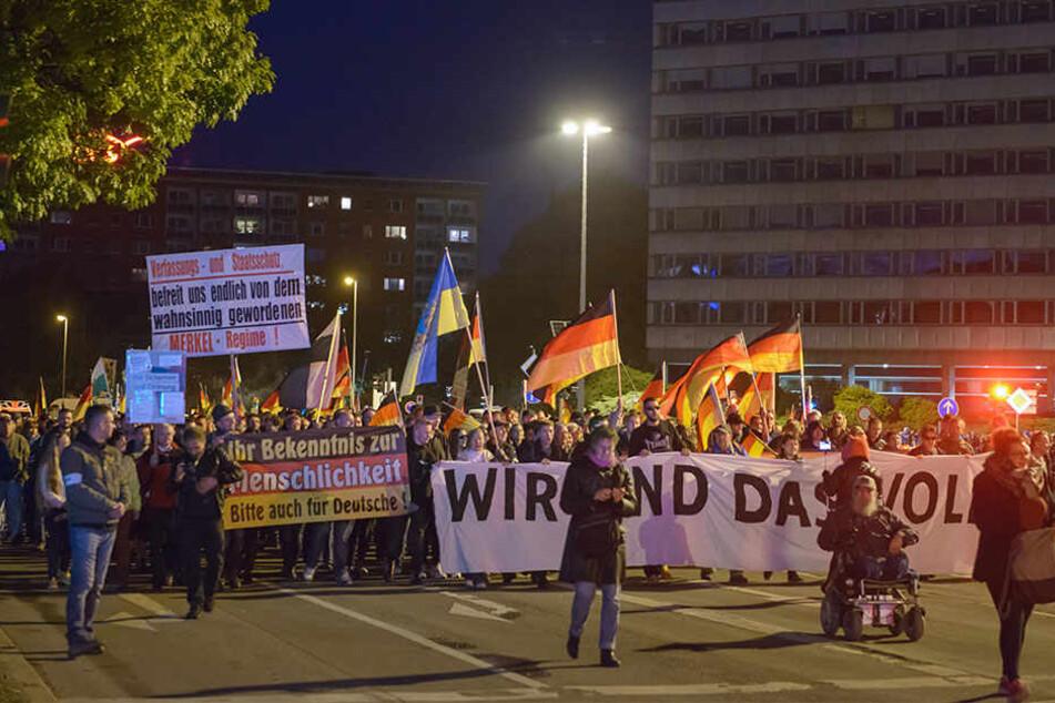 Pro Chemnitz will am Freitag 18.30 Uhr wieder auf der Brückenstraße demonstrieren.
