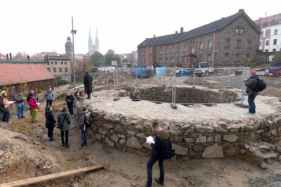 """Schlummerte """"vergessen"""" im Görlitzer Erdreich: Die früheren Stadtväter wollten den Geschützturm offenbar bewusst erhalten."""
