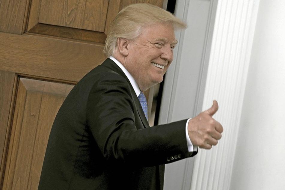 Dass der künftige US-Präsident Donald Trump (70) ist, motiviert offenbar auch in Sachsen Menschen zum Parteieintritt.