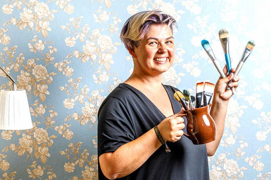 Bodypaint-Künstlerin Silke Kirchhoff (44) organisierte die Aktion.
