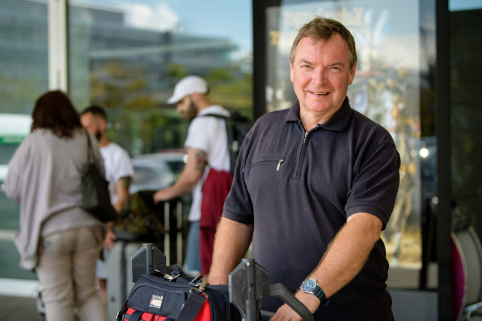 """Claus-Peter Reisch (57), Kapitän des Seenotrettungsschiffs """"Lifeline"""" in München."""