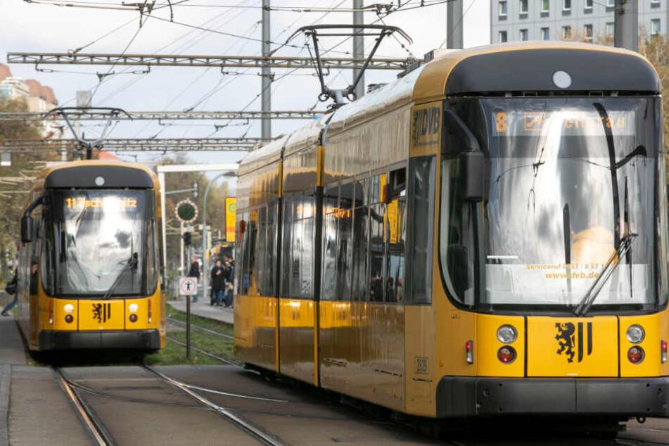 Dresdens Straßenbahnen sollen bis 2022 smarter werden. Die DVB wollen technisch aufrüsten.