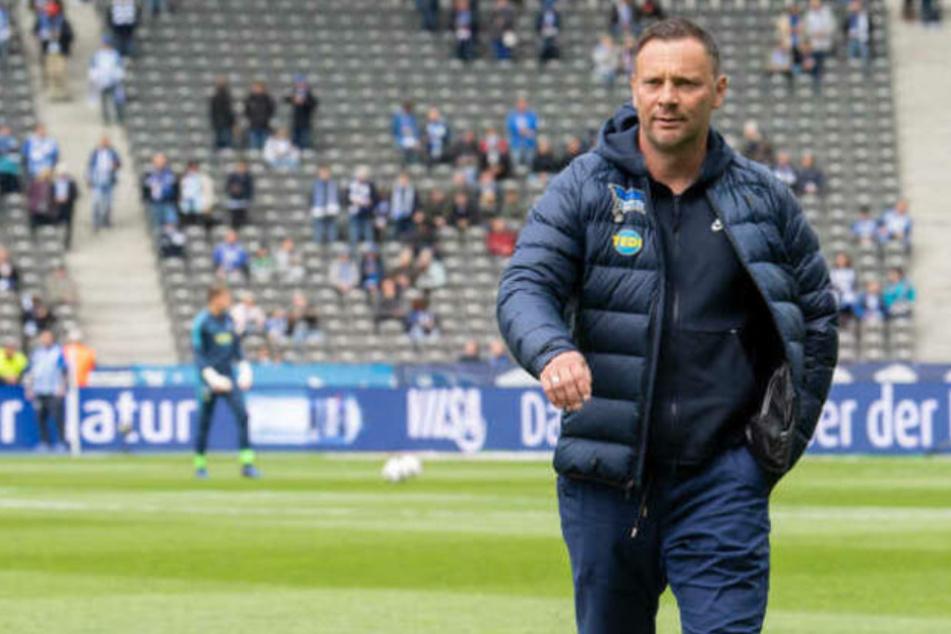 Pal Dardai (44) soll Hertha BSC zum Klassenerhalt führen. (Archivbild)