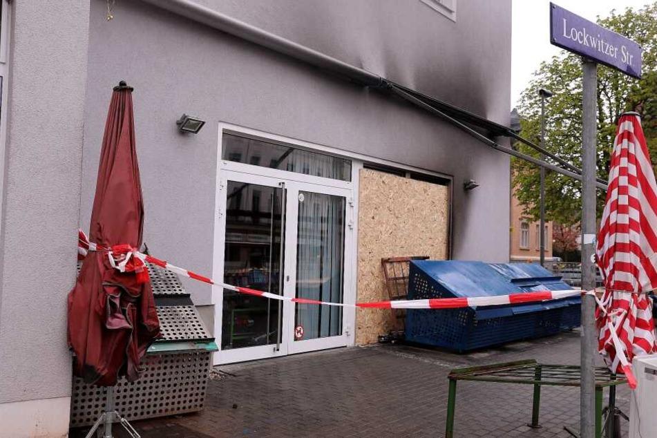 Schwere Brandstiftung in Dresden: Täter zünden Asia-Zelt an