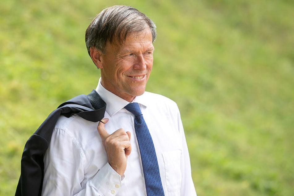 Dr. Matthias Rößler (64, CDU) ist seit 2009 Landtagspräsident und bleibt es auch.