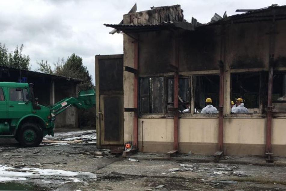 Mann stirbt bei Explosion in Düngemittel-Lager