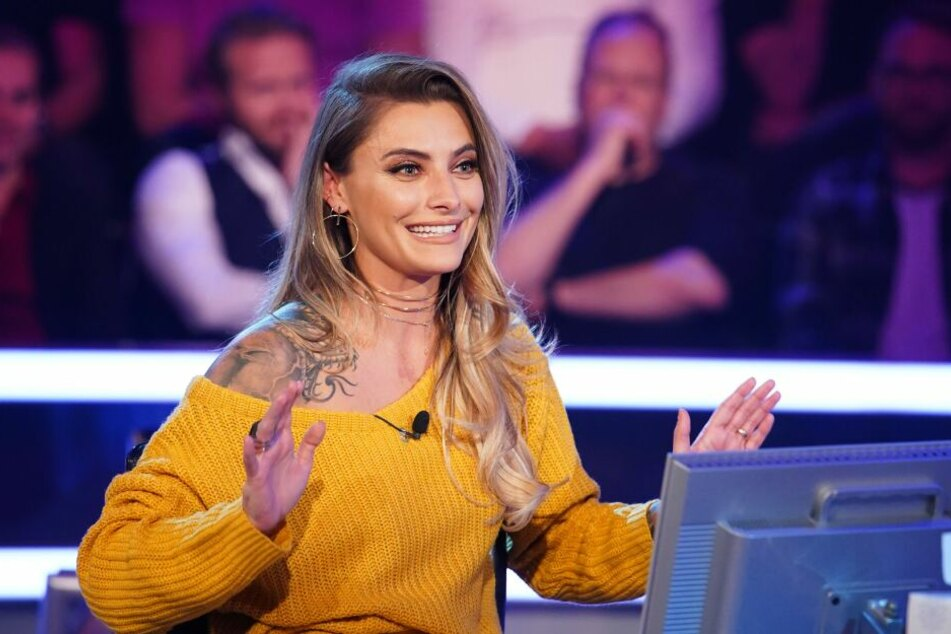 Sophia Thomalla bei Wer wird Millionär.