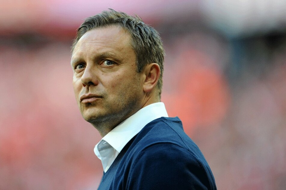 André Breitenreiter (43)  ist voll des Lobes für RB-Sportdirektor Ralf Rangnick,