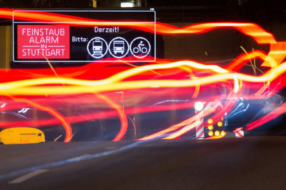 Stuttgart: Trotz Diesel-Fahrverbots: Stuttgart reißt Feinstaub-Grenze!