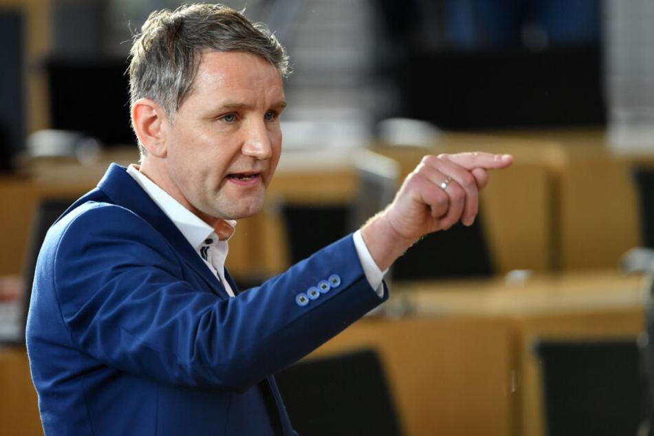 """Der Vorsitzende des """"Flügels"""", Björn Höcke."""