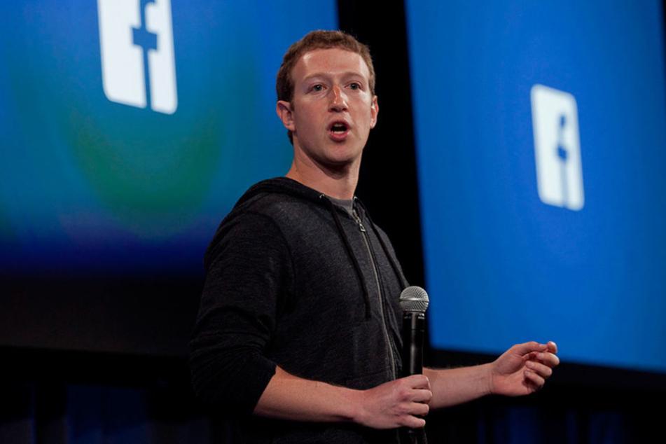 Mark Zuckerberg (32) will mti Facebook jetzt den TV-Markt erobern..