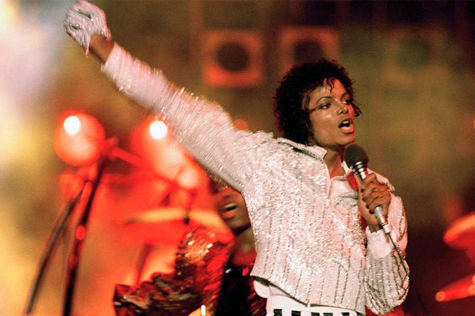 """Michael Jackson während seiner """"Victory Tour"""" 1984."""