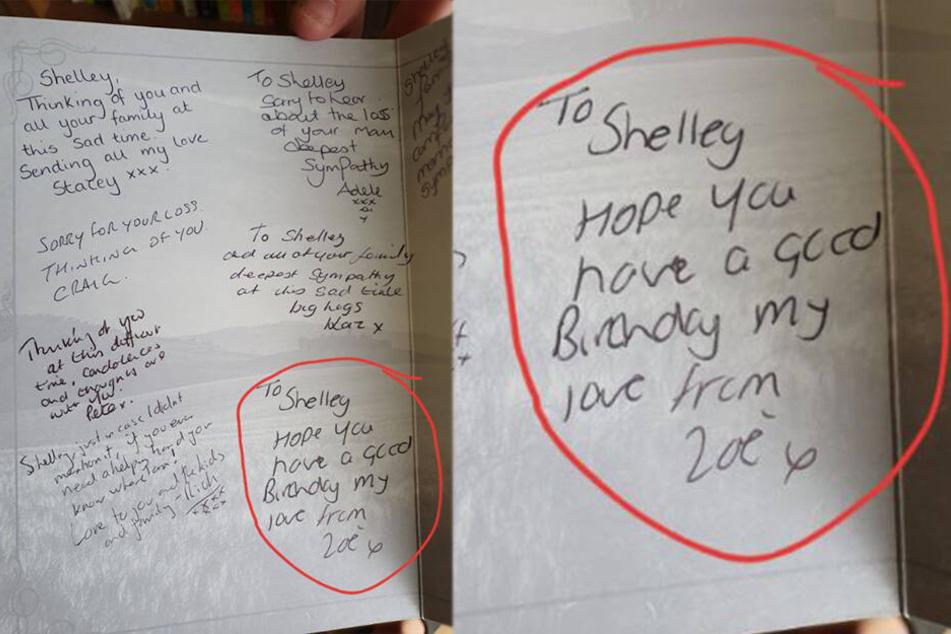 Zoe X hatte augenscheinlich nicht kapiert, was sie unterschrieb...