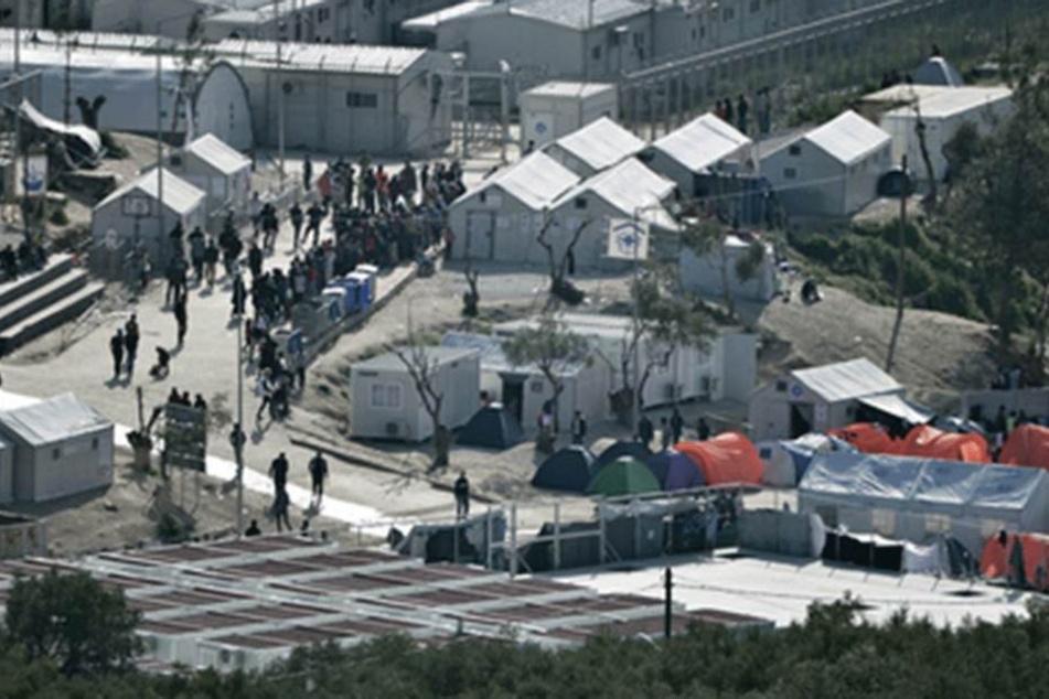 Moria ist eines der größten Flüchtlingslager in Griechenland.