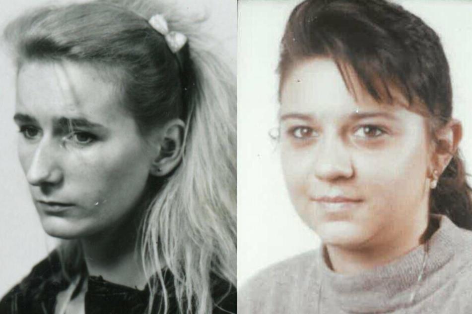 Anja Witt (links) und Vanessa Wardelmann wurden erdrosselt.