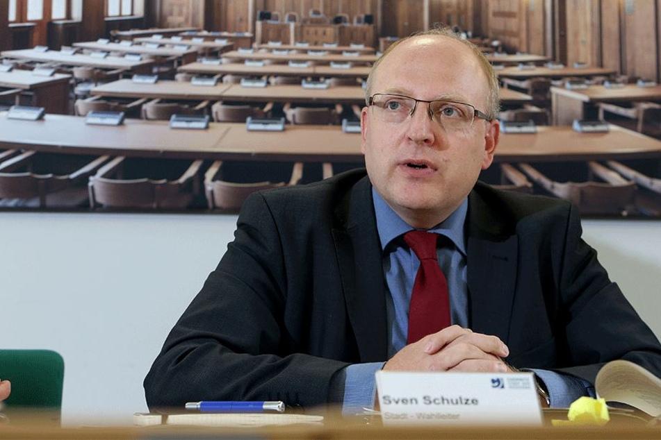 Stadtkämmerer Sven Schulze (45, SPD).