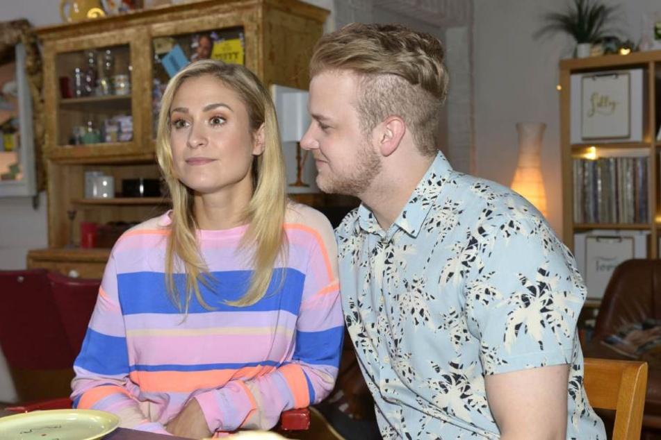 Sophie (Lea Marlen Woitack) wird GZSZ im Frühjahr 2019 verlassen. Wird Jonas (Felix van Deventer) ihr folgen?