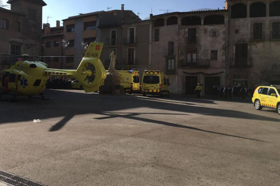 Explosion nach Pyro-Show nahe Barcelona: 14 Verletzte!